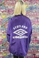 VINTAGE UMBRO SHELL JACKET/WINDBREAKER. BRANDED SPORTSWEAR.