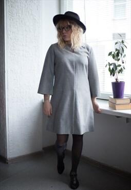 Vintage 90's Grey Mini Dress