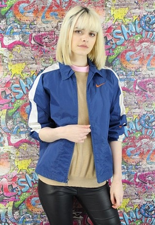 VINTAGE NIKE SHELL JACKET/WINDBREAKER. BRANDED SPORTSWEAR.