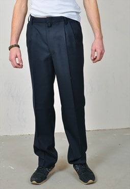 Vintage 90's trousers in black
