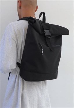 New Slimline Backpack Black