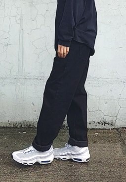 NEW Baggy Raver Fit Jeans Black