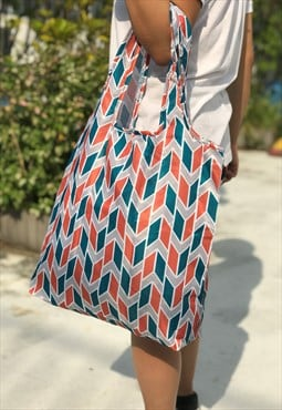 Shopping Bag 2-Way Hobo Water Repellent - Oslo