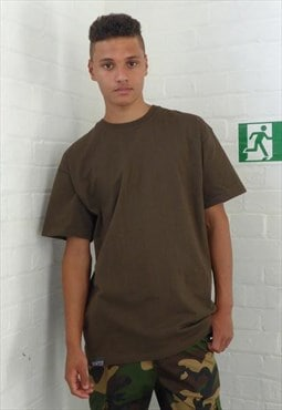 New Compton T-shirt Brown