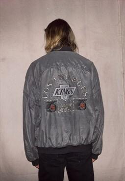 90s LA Kings Official Bomber Unisex Jacket