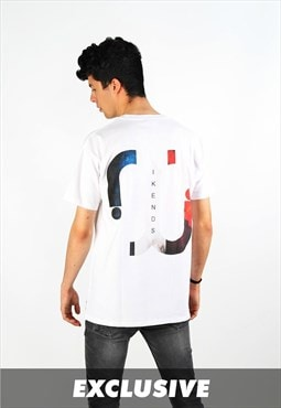 EXCLUSIVE T-Shirt white - logo Ikends