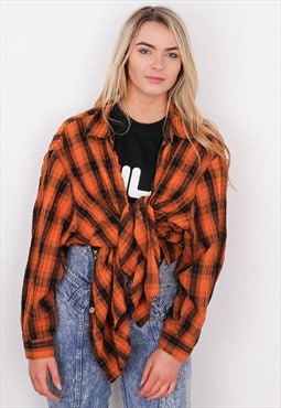 Vintage Over-sized Flannel Shirt CVFS111