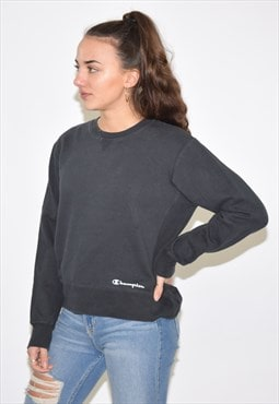 Vintage 90s Black Champion Sweatshirt