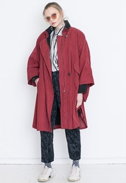 VINTAGE Red Retro Coat