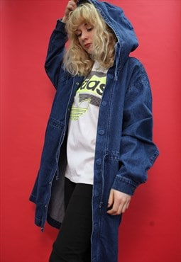Vintage 90's Oversize Denim Coat