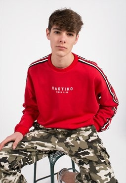 Basic Red Sweatshirt