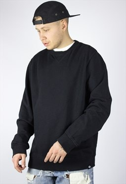 Vintage Mens DICKIES Blank Sweatshirt Crew Neck