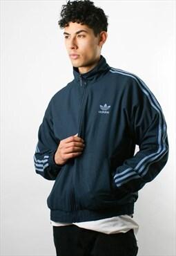 ADIDAS windbreaker jacket, bomber jacket, zip up