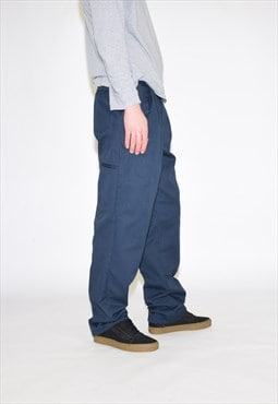 Vintage 90s Blue Dickies Work Trousers