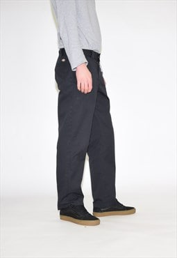 Vintage 90s Black Dickies Work Trousers