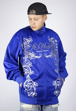 Mens COOGI Track Top  Big Logo Jacket