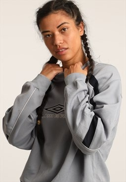 Vintage Umbro Embroidered Spell Out Sweatshirt