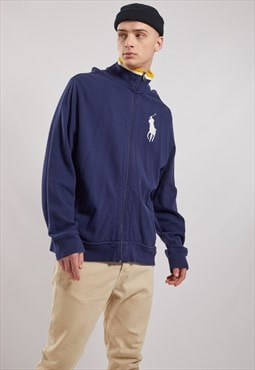 Vintage Ralph Lauren Zip-Up Sweatshirt