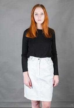 Vintage 90s Denim Skirt
