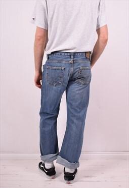 Levi's 512 Mens Vintage Jeans W36 L30 Blue 90's