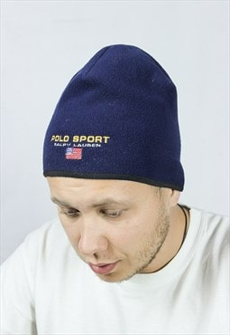 Vintage POLO SPORT Mens Fleece Hat