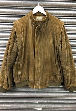 80s Cord Jacket gilet