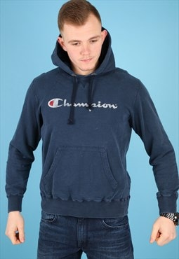 Vintage Champion Hoodie in Navy NH64
