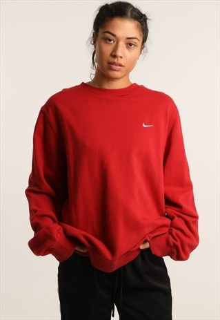 VINTAGE NIKE EMBROIDERED LOGO SWEATSHIRT