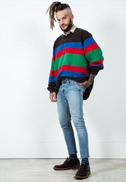 Vintage 90s Levi's Skinny Cut-off Jeans Mid Wash  / 0215