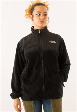 Black The North Face Sherpa Full Zip Fleece