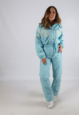 Vintage SHIBUYA Full Ski Suit Snow Sports UK S 10  (J2T)