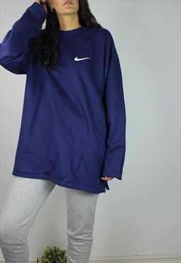 Vintage Nike Sweatshirt with Logo Front & Back