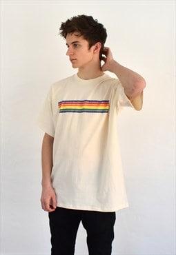 G&G Natural Unisex Chunky Rainbow Lino