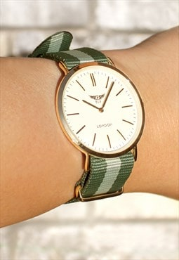 Compact Super Slim Loop Strap Watch