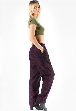 VINTAGE PLEATED TROUSERS BAGGY MANLY
