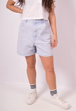 Vintage Lee Denim Shorts Blue