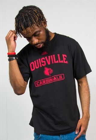 ADIDAS LOUISVILLE CARDINALS COLLEGE SPORTS T-SHIRT