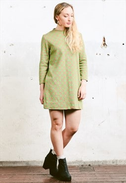 Vintage 60s Mod Mini Dress