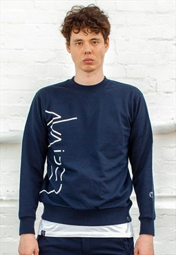 Rumble Sweater - Navy
