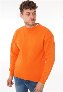 Vintage Puma Sweatshirt Orange