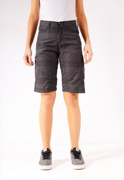 Vintage Lee Cargo Shorts Dark Grey