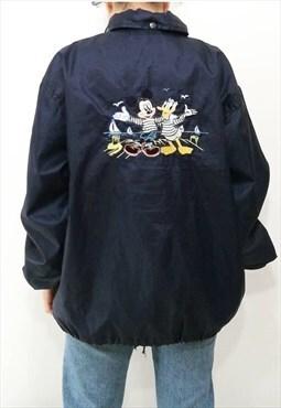Vintage Disney Donaldson embroidered parka