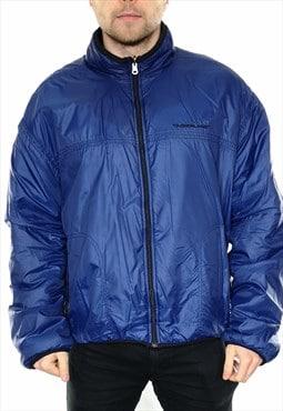 Vintage Timberland Reversible Jacket In Blue / Black