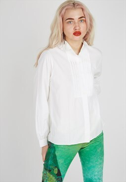 Vintage Benetton White Shirt