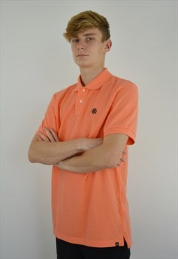 light Orange Nike Polo Shirt
