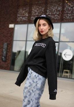 Vintage 90's KAPPA Spellout Top Sweatshirt