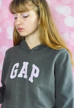 Vintage GAP Hoodie in Lilac and Grey