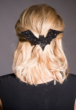 XL Bat Hair Clip