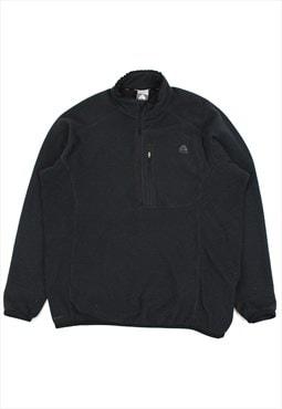 Black Nike ACG 1/2 zip fleece