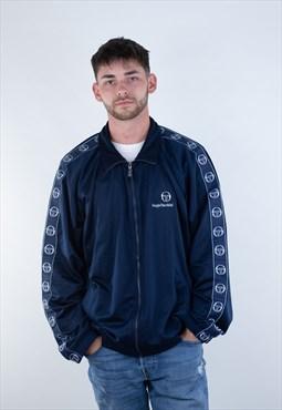 Vintage Sergio Tacchini 90s light sport track jacket